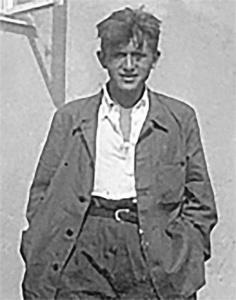 Kazimierz Dejmek w roku 1940.