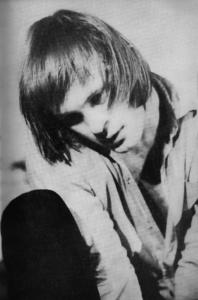 Wiesław Komasa w monodramie Odejście Kaina wg Marianny Bocian (1973). Fot. Archiwum aktora.